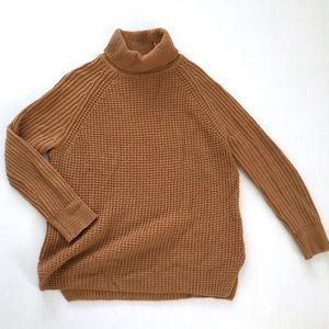 Lord and Taylor Camel Colored Knit